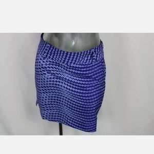 Adidas Blue/purple Skirt Sz 0 Euc.